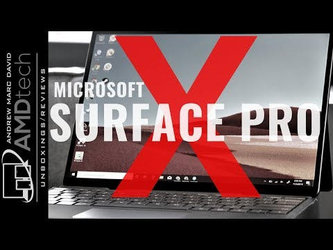 Microsoft Surface Pro X: The Review