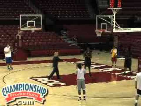 All-Access Maryland Women's Basketball Practice with Brenda Frese Part 2