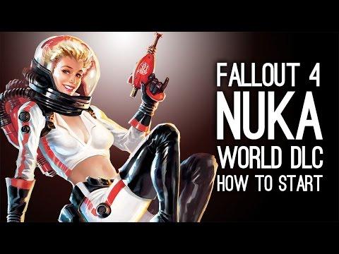 Fallout 4 Nuka World DLC - How To Start Nuka World DLC