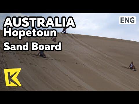 【K】Australia Travel-Hopetoun[호주 여행-호프툰]스릴만점 샌드보드/Sand boad/Sand hill/Desert/Board
