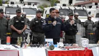 """Detienen a 243 personas tras el desalojo de los campamentos en Chacao y Baruta  """"Incautaron armas, d"""