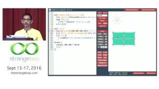 """Sketch-n-Sketch: Interactive SVG Programming with Direct Manipulation"" by Ravi Chugh"