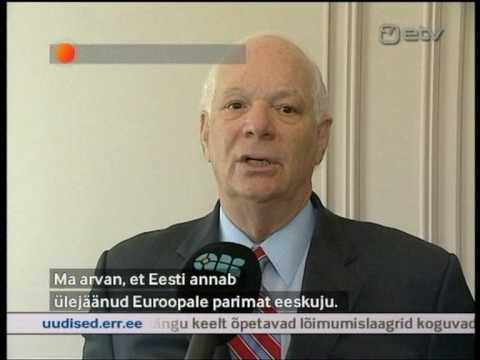 U.S. Congressional Delegation Visits Estonia (Courtesy of ETV)