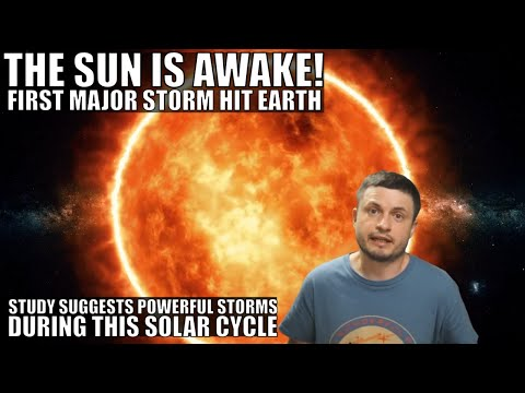 First Major Solar Storm of the New Cycle - The Sun is Awake