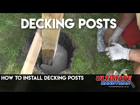 How To Install Decking Posts