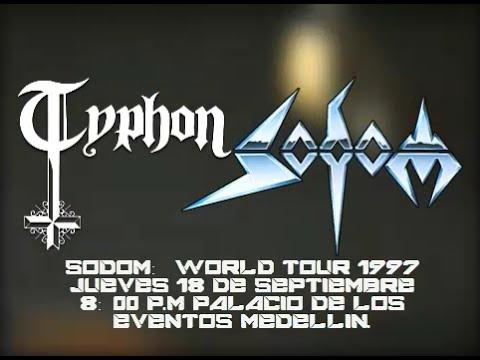 Typhon & Sodom - Concierto en el palacio de los eventos medellin (1997)