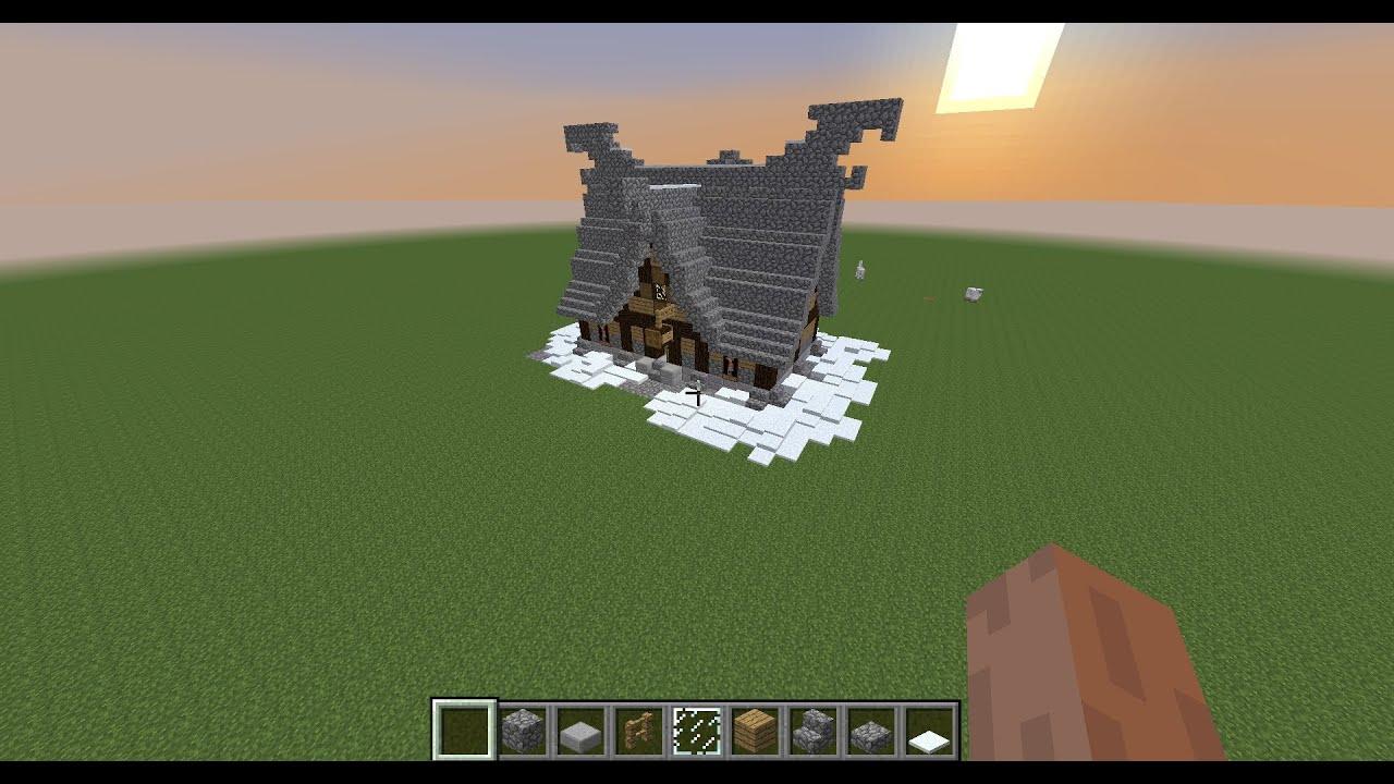 tuto comment faire une maison dans minecraft youtube. Black Bedroom Furniture Sets. Home Design Ideas