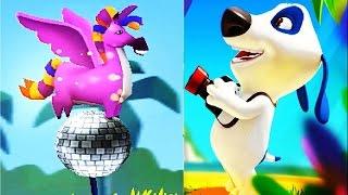 МОЙ ГОВОРЯЩИЙ ХЭНК #106 Друзья Анджела Том игра про мультфильм детский летсплей #Мобильные игры