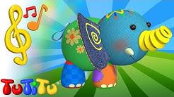 TuTiTu Spielzeug und Lieder auf Englisch | Elefant | Englisch lernen für Kinder
