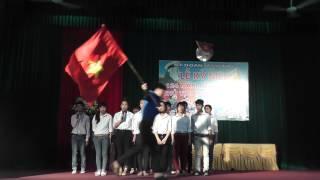 Chi đoàn THCS với bài hát:Thanh Niên Thế Hệ Bác Hồ