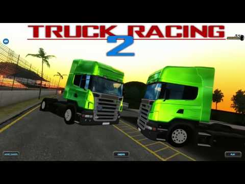 Truck Racing 2 3D, Amazing Truck Racing Game, Flash Game Video