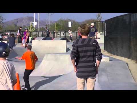 Alex Road SkatePark in Oceanside, California 2013