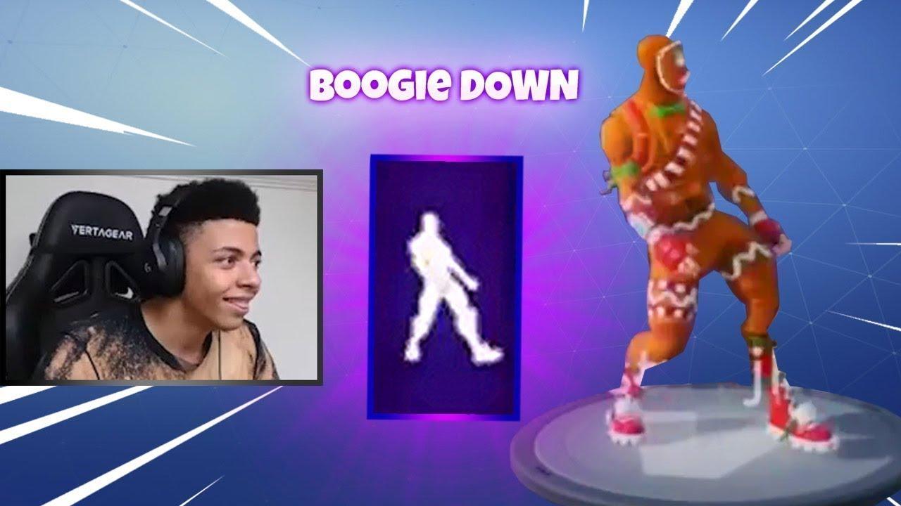Como conseguir el Boogie Down en fortnite - YouTube