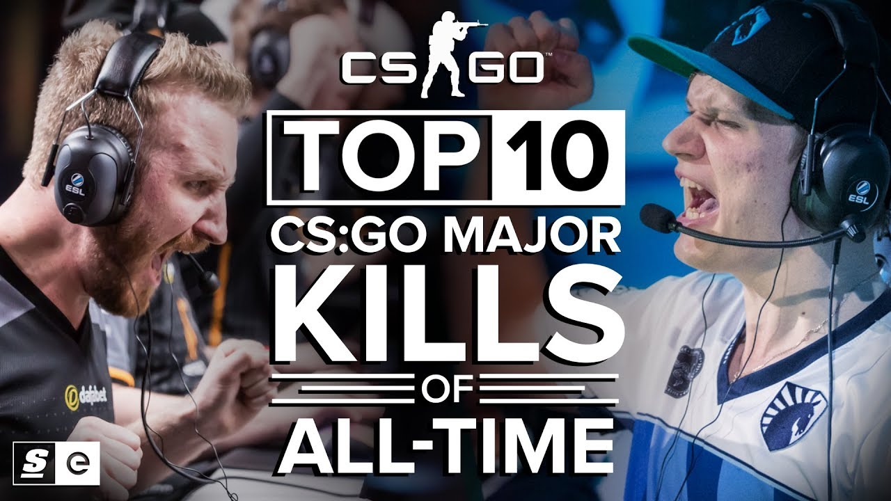 The Top 10 CS:GO Major Kills of All-Time thumbnail