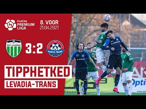 Levadia Tallinn Trans Narva Goals And Highlights
