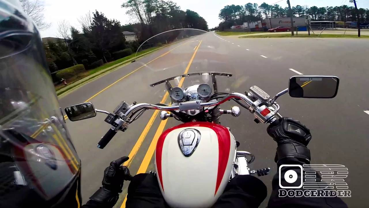 Test Ride 1997 Honda Valkyrie Big Red Beast Youtube