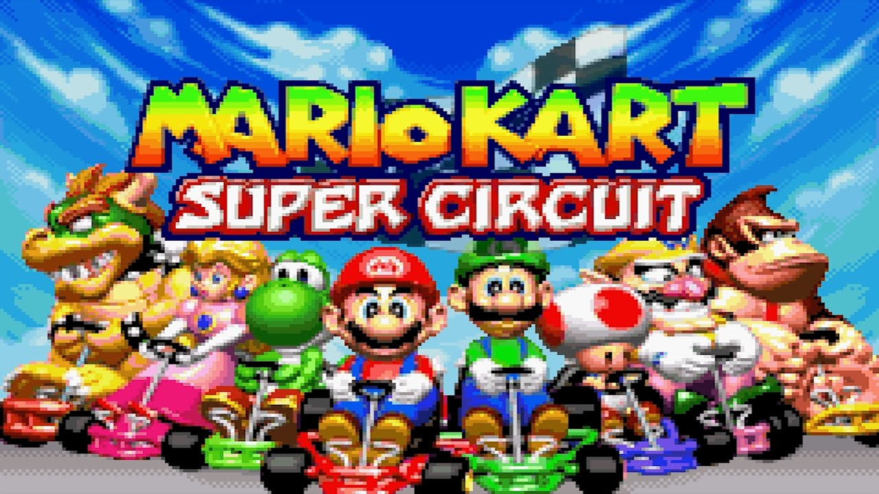 Mario Kart: Super Circuit Game Boy Advance Gameplay - YouTube
