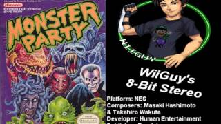 Monster Party (NES) Soundtrack - 8BitStereo
