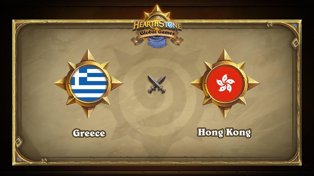 Греция vs Гонконг | Greece vs Hong Kong | Hearthstone Global Games (07.06.2017)