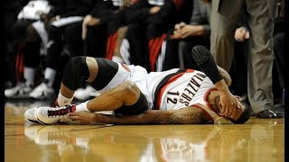 NBA Players Getting Injured By Crossovers