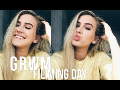 GET READY WITH ME - Filming Day!