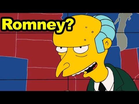 Should Mr. Burns Endorse Romney?