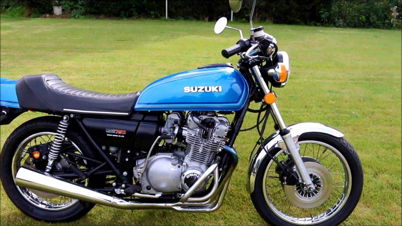 Suzuki GS750 from 1978 - YouTube