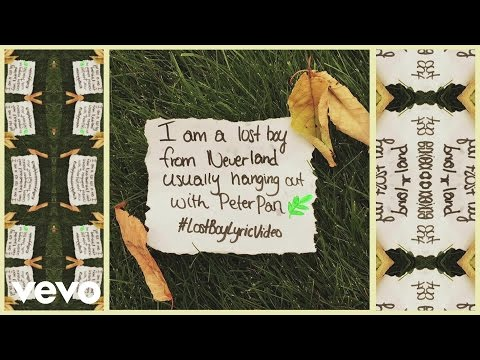Ruth B - Lost Boy (Lyric Video)