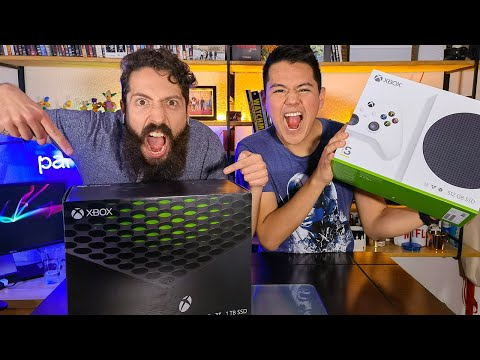 UNBOXING: XBOX Series X / XBOX Series S