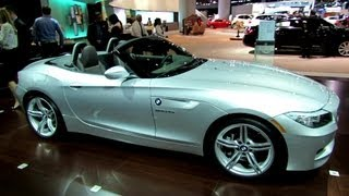 2013 BMW Z4 Roadster sDrive 35is - Exterior and Interior Walkaround - 2012 Los Angeles Auto Show