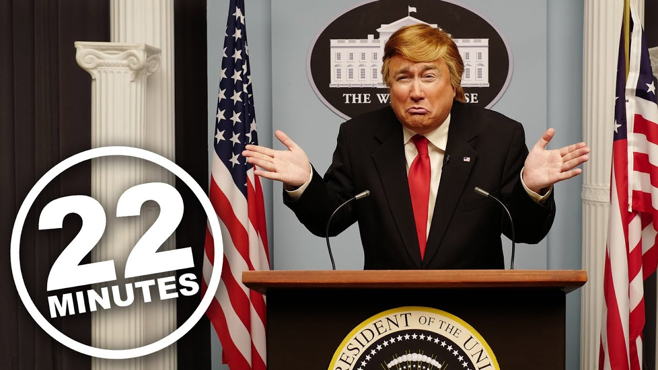 22 Minutes House Of Cards Donald Trump Youtube