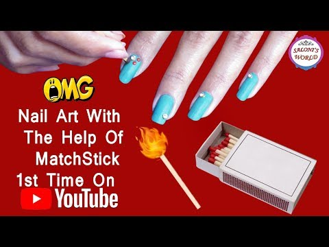 💅Nail Art Designs With Matchstick 💖| Dotting Nail Art| Without Any Tool😍 by Shreya Sachdeva