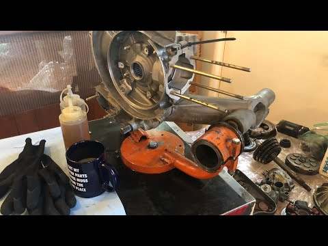 Vespa LML engine build live from Metro Scooter
