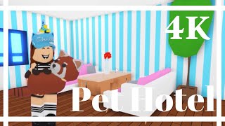 I MADE A PET HOTEL FOR MY PETS (Roblox Adopt me) speedbuild | Its SugarCoffee