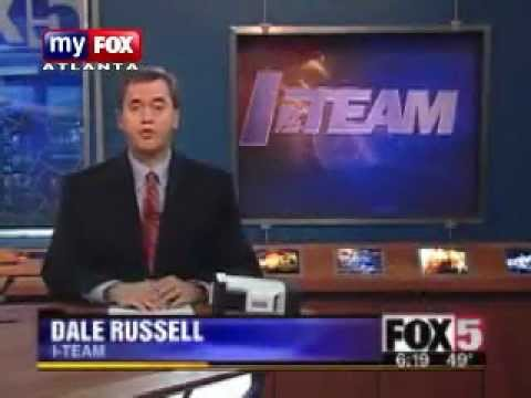 REPTILIAN DALE RUSSELL - FOX 5 NEWS, SHAPESHIFTING at 4:23 min.