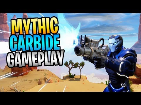 FORTNITE - Kill 3 Smashers With ONE Ability! Mythic Carbide Gameplay
