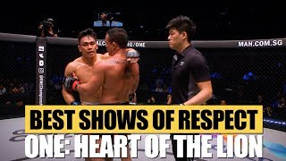ONE Highlights   ONE: HEART OF THE LION Best Show Of Respect