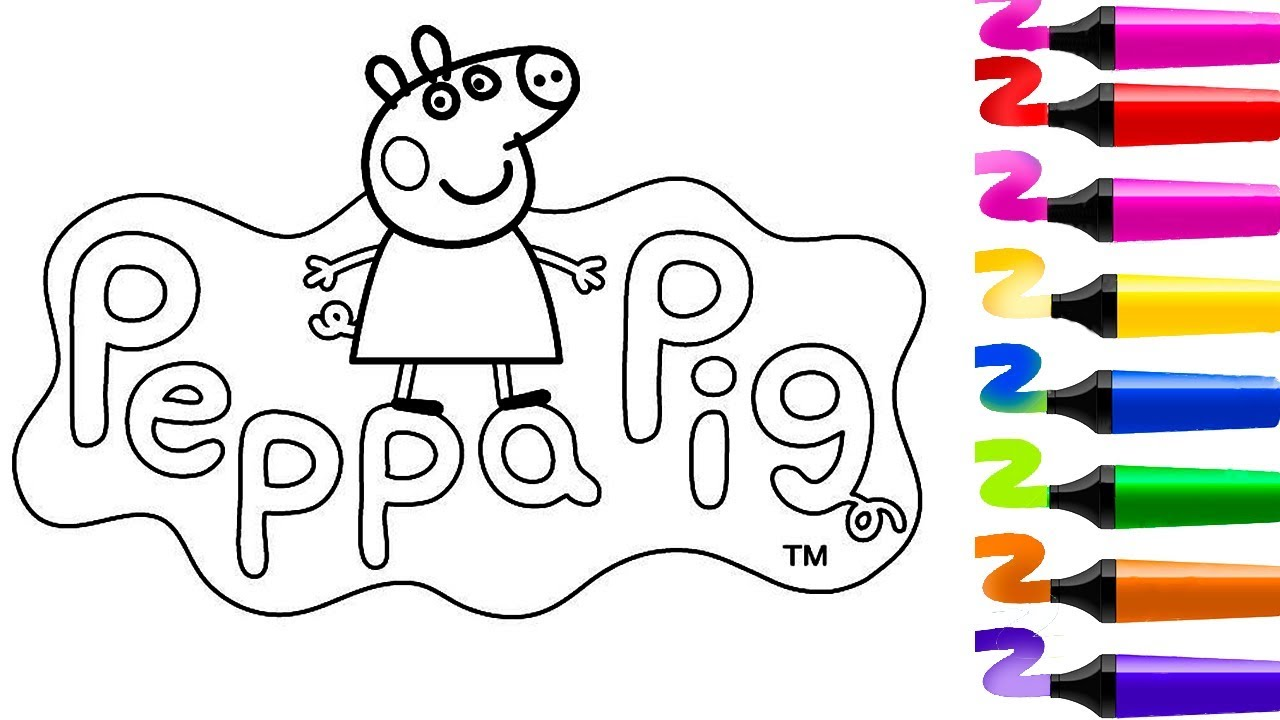 Coloriage Peppa Pig Coloriage Magiquedessin Facile Peppa Cochon Peppa Pig Coloriage Jeu De Fille