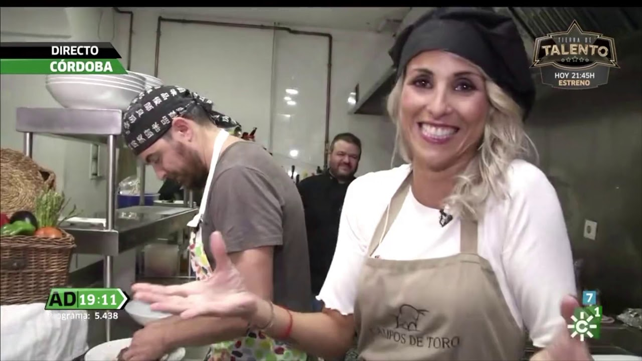 Concurso gastronómico reporteros Andalucía Directo (18/10/19). Restaurante  Campos de Toro. Córdoba. - YouTube