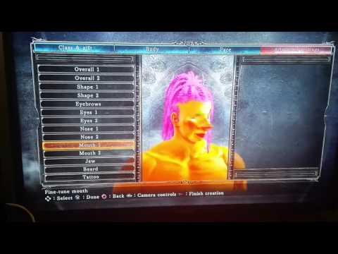 Dark Souls II Character Renaissance Creation