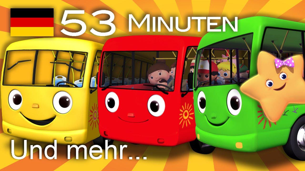 Download Die Räder vom Bus | Und noch viele weitere Kinderlieder | von LittleBabyBum