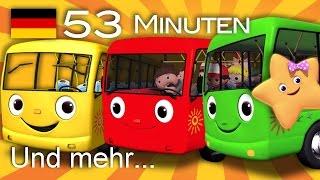 Die Räder vom Bus | Und noch viele weitere Kinderlieder | von LittleBabyBum