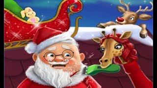 Новогодний Салон Красоты для Животных игра 1