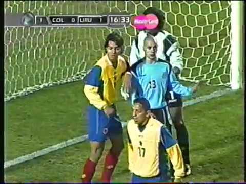 Uruguay vs Colombia-Copa América 2004-Partido completo.