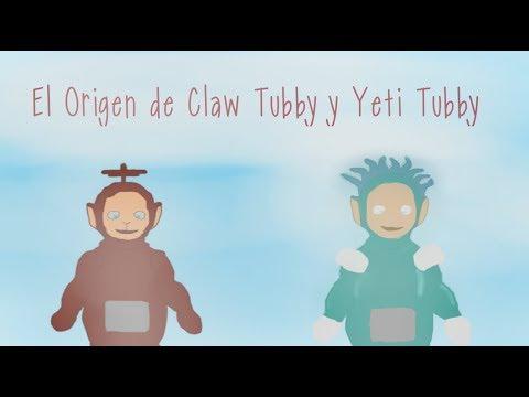 Creepypasta El origen de Claw Tubby y Yeti Tubby ¡Slendytubbies III!