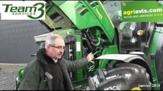 Thierry Poiret de Team 3 Services décrit le John Deere 6150R