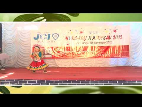 Poovalan Kiliye | Single Dance | Nursery Kalolsavam