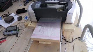 Homemade DTG Printer - Upgraded by