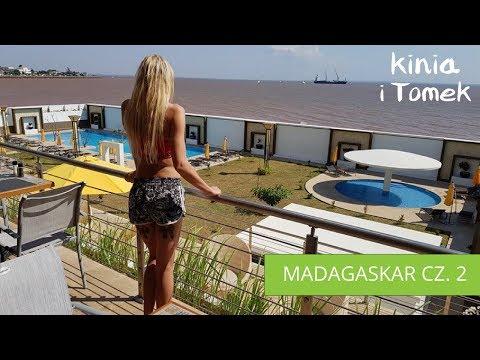 Madagaskar 2 - Lot awionetka, Mahajanga, hotel Baobab 4K
