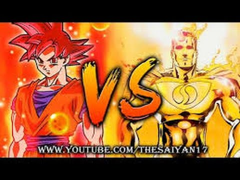 Super Saiyan God Goku vs Superman Prime One Million Part 1 ...